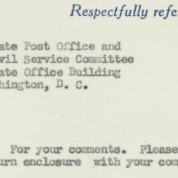 Memorandum : 1955 August 22