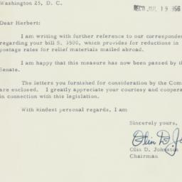 Letter : 1956 June 17