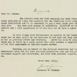 Letter : 1926 February 25