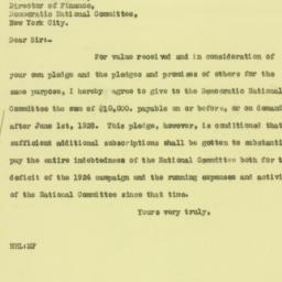 Letter : 1927 September 27