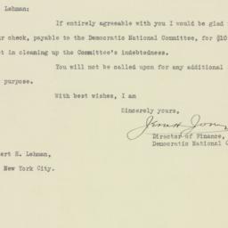 Letter : 1928 January 26