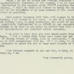 Letter : 1953 May 23