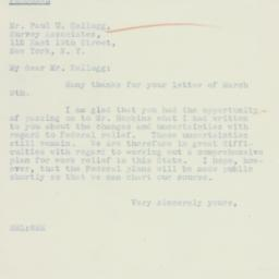 Letter : 1934 March 12