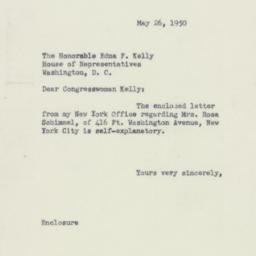 Letter : 1950 May 26