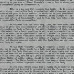 Memorandum : 1962 August 2