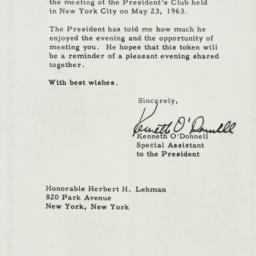 Certificate: 1963 November 8