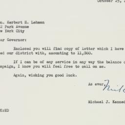 Letter : 1946 October 25