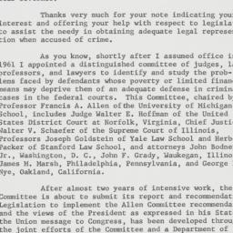 Letter : 1963 January 18
