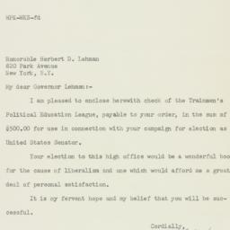 Letter : 1949 October 26