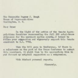 Letter : 1950 July 22