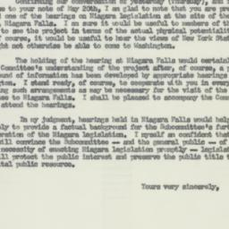 Letter : 1955 May 27