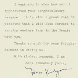 Letter : 1952 November 14