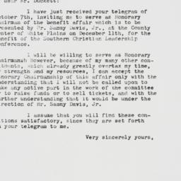 Memorandum : 1962 October 8