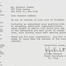 Letter : 1962 December 4