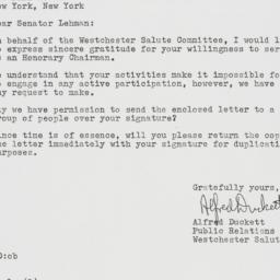 Letter : 1963 November 21