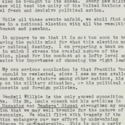 Letter: 1943 November 18