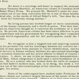 Letter : 1952 January 2