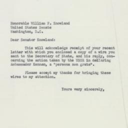 Letter : 1952 October 31