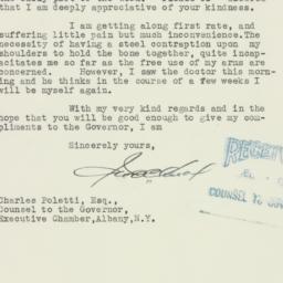 Letter: 1935 December 6