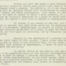 Letter: 1939 June 23