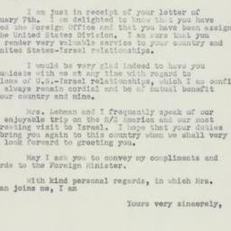 Letter : 1950 February 16