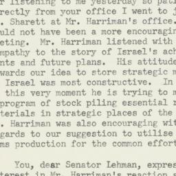 Letter : 1950 December 16