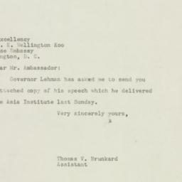 Letter : 1947 December 10