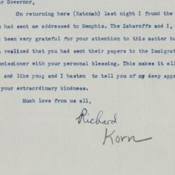 Letter : 1950 July 21