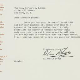Letter : 1948 April 8