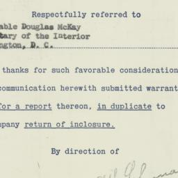 Memorandum : 1955 October 11