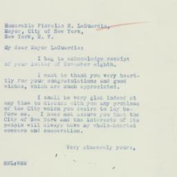 Letter : 1934 November 10