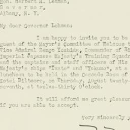 Letter: 1936 August 22
