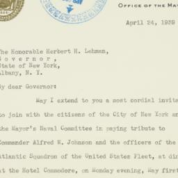 Letter : 1939 April 24