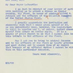 Letter : 1939 April 27