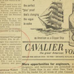 Clipping : 1957 February 20