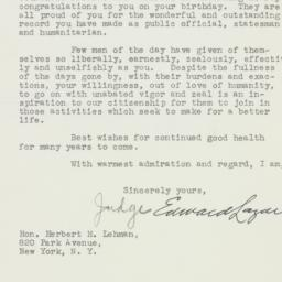 Letter: 1948 March 25