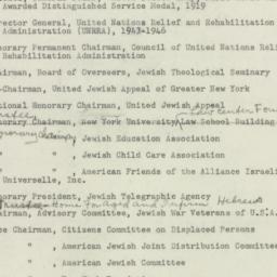 Ephemera: 1949 April 30