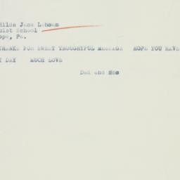 Letter : 1936 April 12