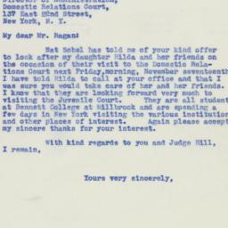 Ephemera : 1939 November 15
