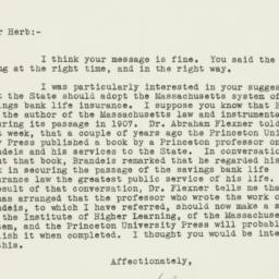 Letter: 1938 January 6