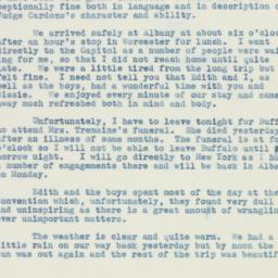 Letter: 1938 July 27