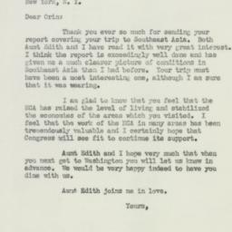 Letter : 1951 July 14