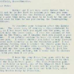 Letter : 1934 November 21