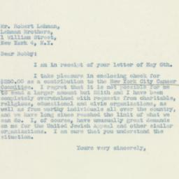 Letter : 1947 May 17