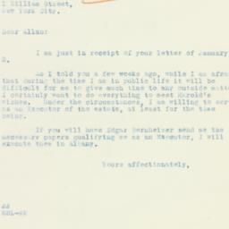 Letter: 1934 January 4