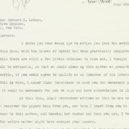 Letter: 1934 January 22