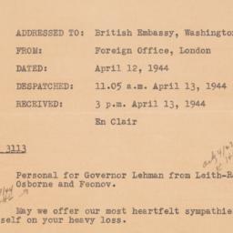 Letter : 1944 April 27