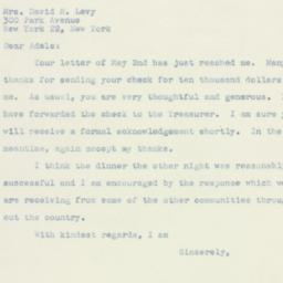 Letter: 1947 May 5