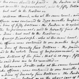 Document, 1799 June 28