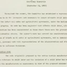 Letter: 1933 September 21